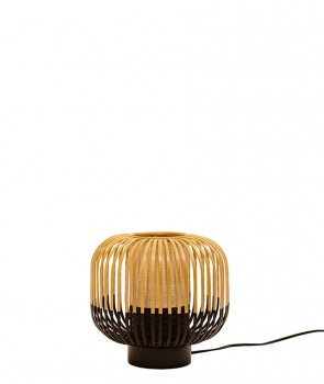 Lampe Bamboo light Noir H24cm - Forestier