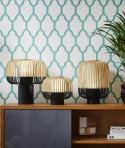 Lampe Bamboo light Noir H39cm - Forestier