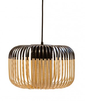 Suspension Bamboo light Noir S - Forestier