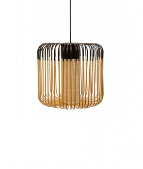 Suspension Bamboo light Noir M - Forestier