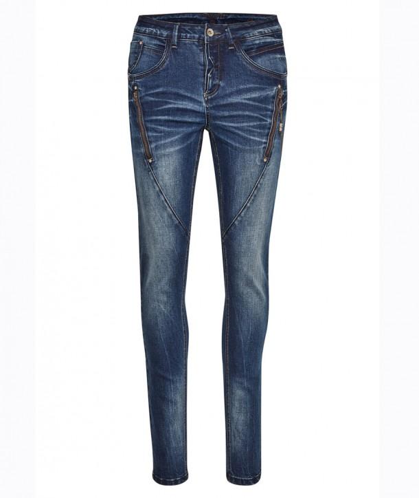 BIBIANA Jean denim - Bleu jean