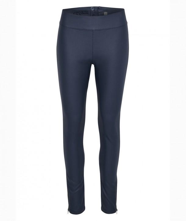 BELUS KATY Pantalon slim - Bleu navy