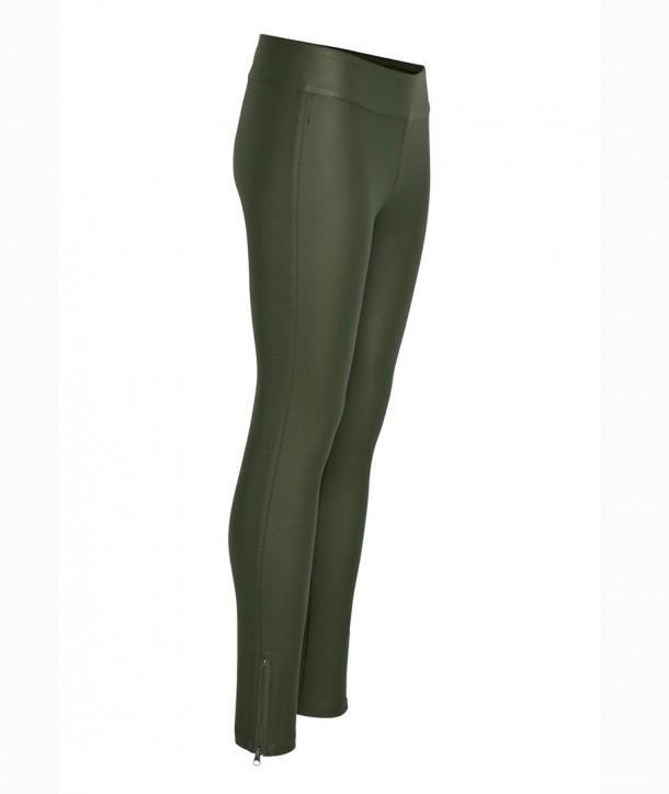 BELUS KATY Pantalon slim - Vert militaire
