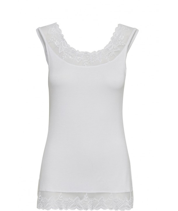 FLORENCE Top - Blanc optique