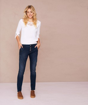 BAILEY POWER Jean stretch - Bleu jean foncé