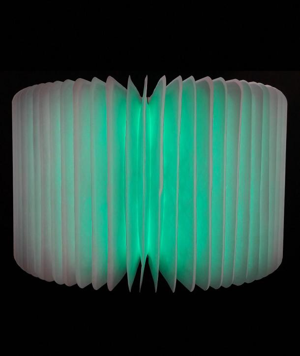 Lampe livre audio en bois d'érable clair - Oobook
