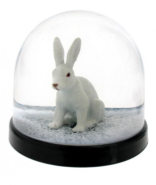 Boule à Neige Lapin Blanc - Klevering