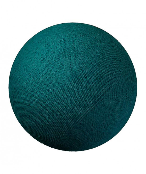 Globe TURQUOISE taille S Diamètre 31 - La case de cousin Paul