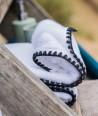 Serviette Éponge ISSEY couleur Blanc - Harmony