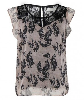 LOREEN Top - Washed Rose