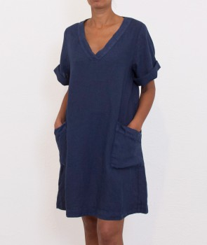 ANOUK Robe V - Denim