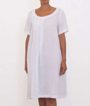 ANGEL Robe plis - White