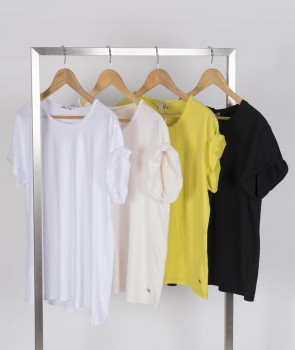 Tee shirt style années 80 - 4 col.