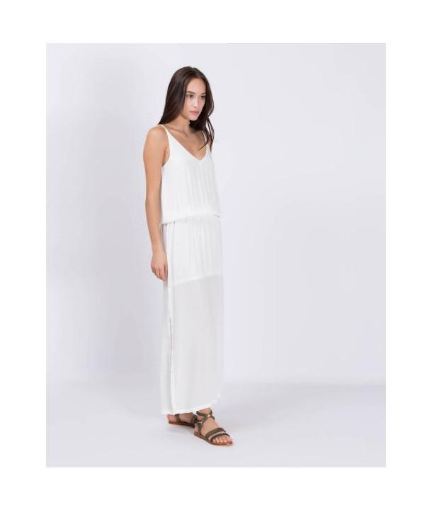 MAEVA Robe longue - Vanilla