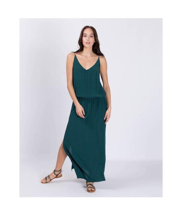 MAEVA Robe longue - Soho green