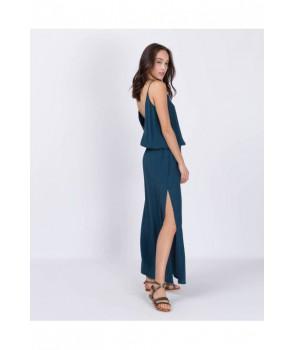 MAEVA Robe longue - Blue indy