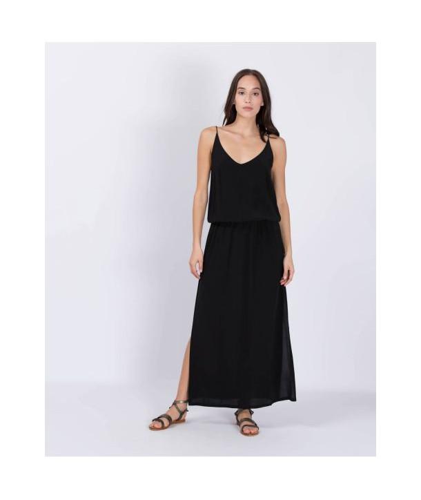 MAEVA Robe longue - Noir