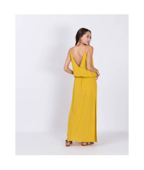 MAEVA Robe longue - Anis