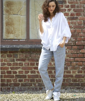 COZY Pantalon - Denim