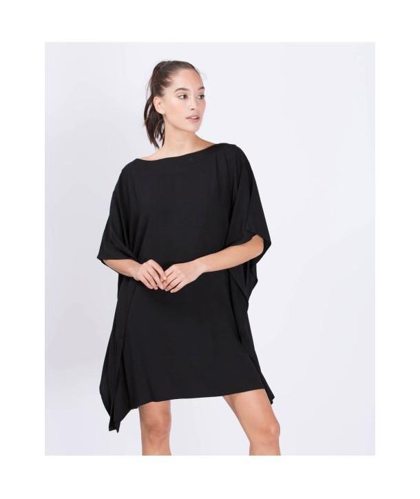 KIMONO Robe courte - Noir