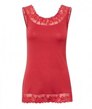 FLORENCE Top - Rouge