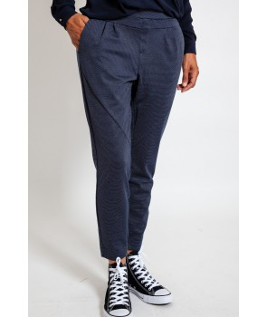 ANETT Pantalon sport chic - Royal Navy Blue