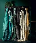 Plaid en Lin et Coton BAYA Bi couleur - 12 coloris - HARMONY
