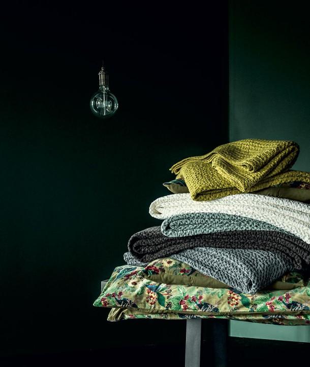 Couvre-lit en Coton TEMPO - 7 coloris - HARMONY