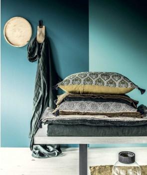 Housse de coussin PATNA Impression Tampon Batik - HARMONY