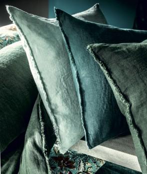 Housse de Coussin en Lin Lavé VITI - 29 coloris - HARMONY