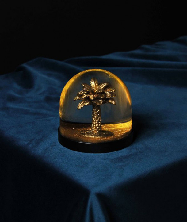Boule à Neige Palmier Gold - Klevering