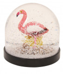 Boule à Neige Flamant rose - Klevering