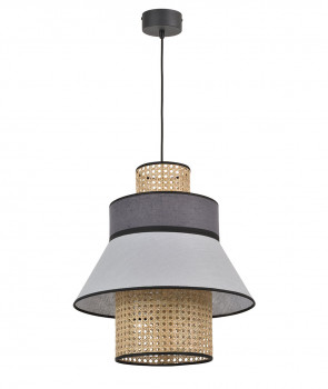 Suspension SINGAPOUR - GM - Gris Clair/ Anthracite