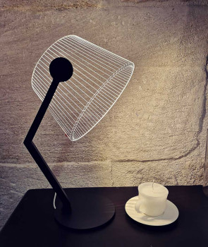 LAMPE ZIGGI BLACK FINISH LINE