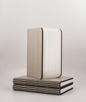 Lampe livre Mini en bois d'érable clair - Oobook