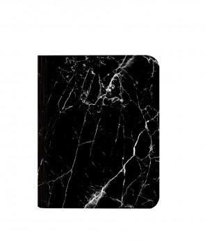 Lampe livre audio aspect Marbre Noir - Oobook