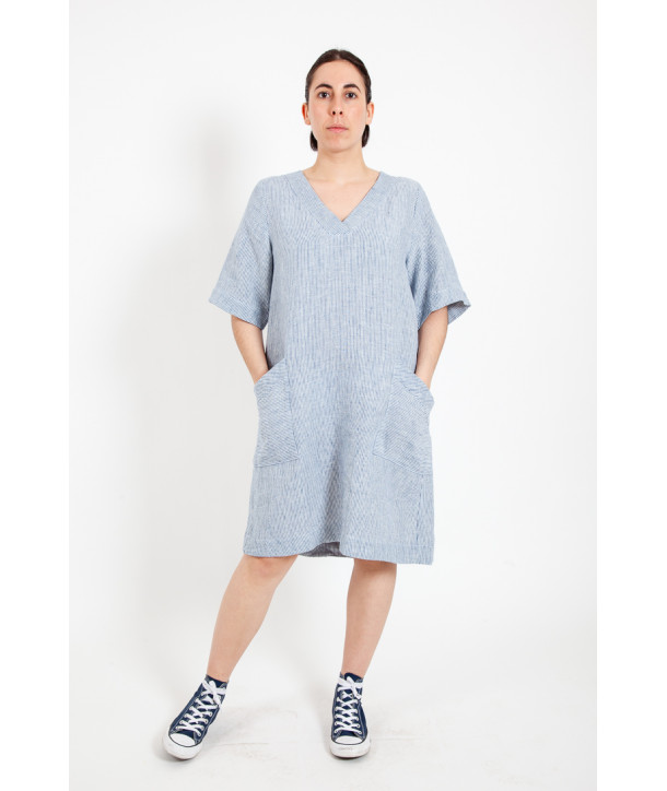 COLOMBE Robe - Denim