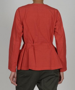 Veste courte JUN rouge