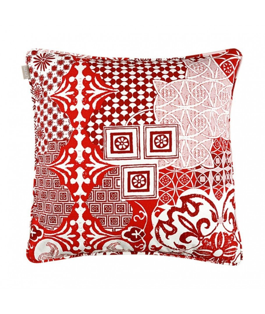 mosaique housse de coussin 50x50 cm d74 rouge. Black Bedroom Furniture Sets. Home Design Ideas