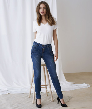 Cream BAIILY Mary Jeans Slim
