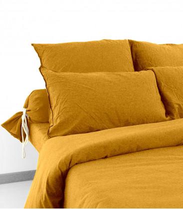 Drap Housse en Coton Lavé - 21 coloris - Vent du Sud