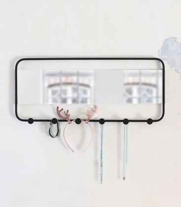 Miroir mural avec crochets ESTAR - Red Cartel