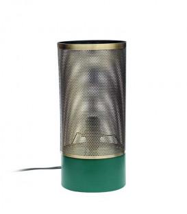 Lampe à poser ALMA Vert Mat et Laiton - Red Cartel