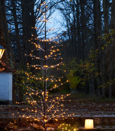 Sapin lumineux slim taille L - SIRIUS