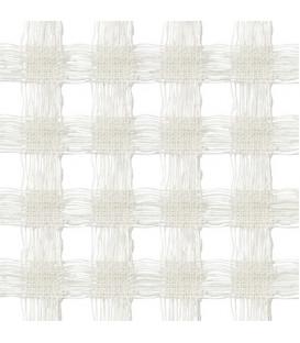 Abat-jour en Bambou et Soie colori Blanc - 3 tailles
