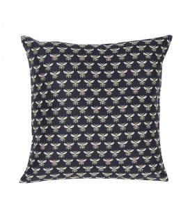 Coussin Jaquard HONEY Brique - 3 dim - Lazare Home