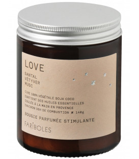 Bougie Fariboles 140g - Love