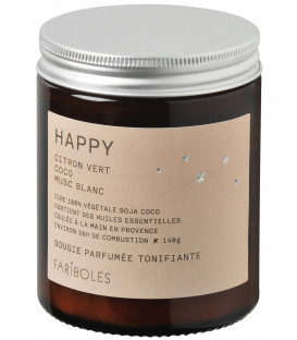 Bougie Fariboles 140g - Happy
