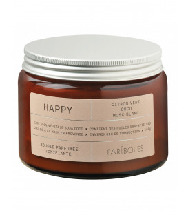 Bougie Fariboles 400g - Happy