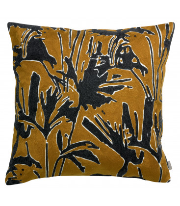 Coussin Coco brodé 45 x 45